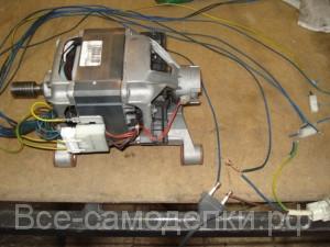 схема подключения мотора стиральной машинки MCA 52\64 -148