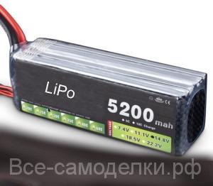 LiPo применение характеристики