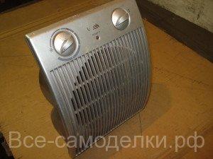 смазка мотора нагревателя