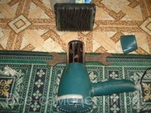 как высушить воздушный фильтр