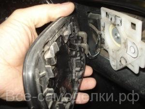 разборка и ремонт зеркало Хонда Аккорд