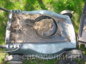 самостоятельный ремонт электрической газонокосилки