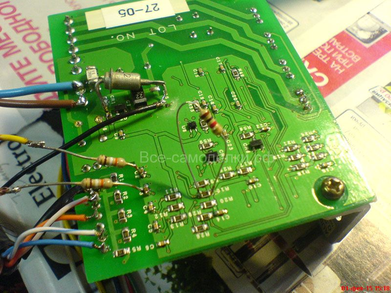 драйвер-контроллеры ШД AU9232 доработка